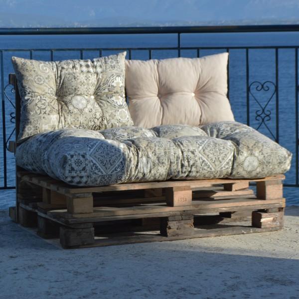 Μαξιλάρια για παλέτες με σχέδιο μοτίβο